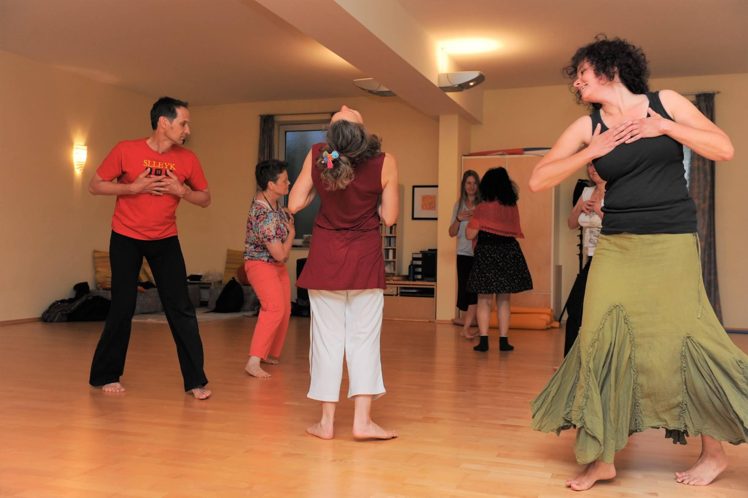 Intuitiver Tanz